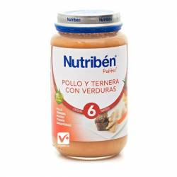 NUTRIBEN POLLO TERNERA VERDURAS 250 GR