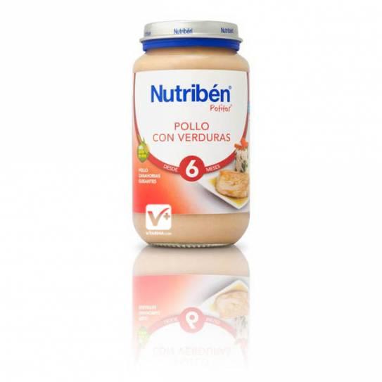 NUTRIBEN POLLO CON VERDURAS 200 GR