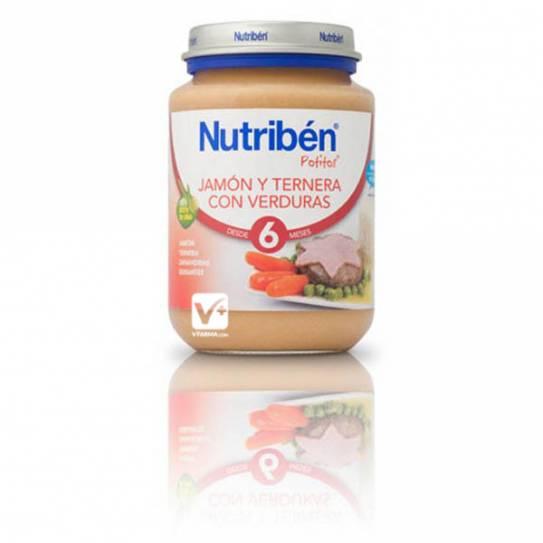 NUTRIBEN JAMON TERNERA VERDURAS 200 GR