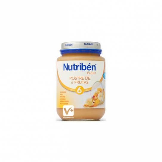 NUTRIBEN POSTRE DE FRUTAS 200 GR