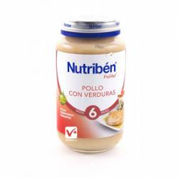 NUTRIBEN POLLO CON ARROZ 200 GR