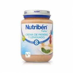 NUTRIBEN LENGUADO CON PATATAS 200 GR