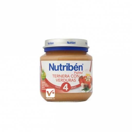 NUTRIBEN TERNERA CON VERDURAS 130 GR