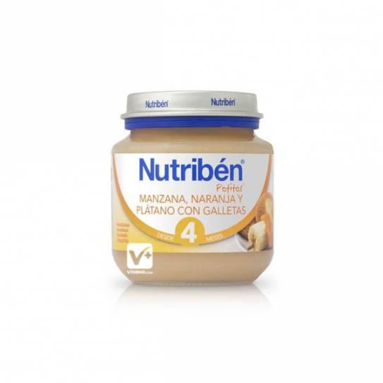 NUTRIBEN NARANJA PLATANO GALLETA 130 GR