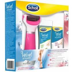 Pack 3 en 1 Dr Scholl Velvet Rosa Lima Eléctrica