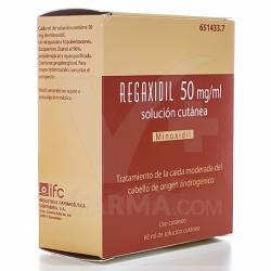 REGAXIDIL 5% SOL CUTANEA 60ML