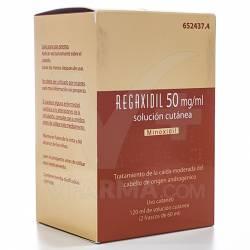 REGAXIDIL 5% SOL. CUTANEA 120 ML.