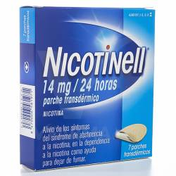 NICOTINELL 14 MG. 7 PARCHES