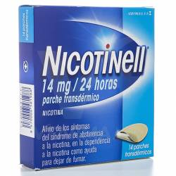NICOTINELL 14 MG. 14 PARCHES