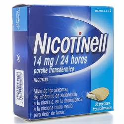 NICOTINELL 14 MG 28 PARCHES