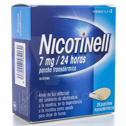 NICOTINELL 7 MG/24 H 28 PARCHES TRANSDERMICOS 17