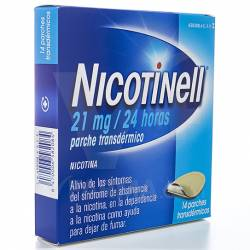 NICOTINELL 21MG 14 PARCHES