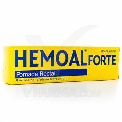 HEMOAL FORTE POMADA RECTAL 50 G.