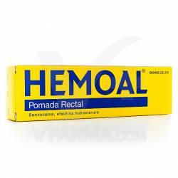 HEMOAL ANTIHEMORROIDAL UNGUENTO 50 G.