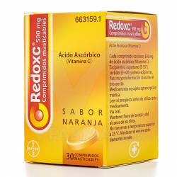 REDOXON 500MG 30 COMPRIMIDOS MASTICABLES
