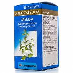 ARKOCAPSULAS MELISA 275 MG 48 CAPSULAS