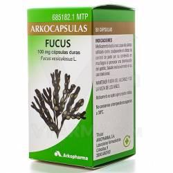 ARKOCAPSULAS FUCUS 100 MG 50 CAPSULAS