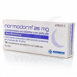NORMODORM 25MG 14COMP