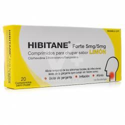HIBITANE FORTE LIMON 20 PASTILLAS