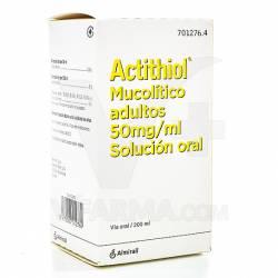 ACTITHIOL 5 % SOLUCION ADULTOS 200 C.C.