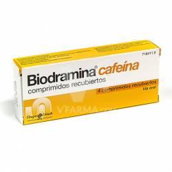 BIODRAMINA CAFEINA 4 GRAGEAS