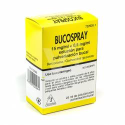 BUCOSPRAY AEROSOL 25 ML.