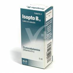 ISOPTO B 12 0.05% COLIRIO 5 ML