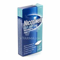 NICOTINELL MINT 2 MG. 24 CHICLES