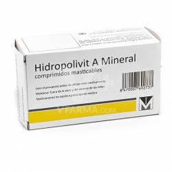 HIDROPOLIVIT A MINERAL 30 COMPRIMIDOS MASTIC