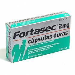 FORTASEC 2 MG. 20 CAPSULAS