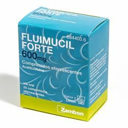 FLUMIL FORTE 600 MG 20 COMPRIMIDOS EFERVESTES