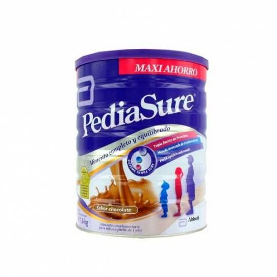 1,6 KG Pediasure Chocolate polvo formato grande