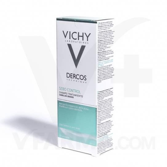 VICHY DERCOS CHAMPU SEBO-CORRECTOR 200ML