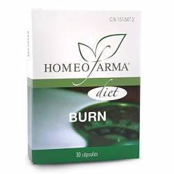 HOMEOFARMA DIET BURN 30 CAP, 500 MG.