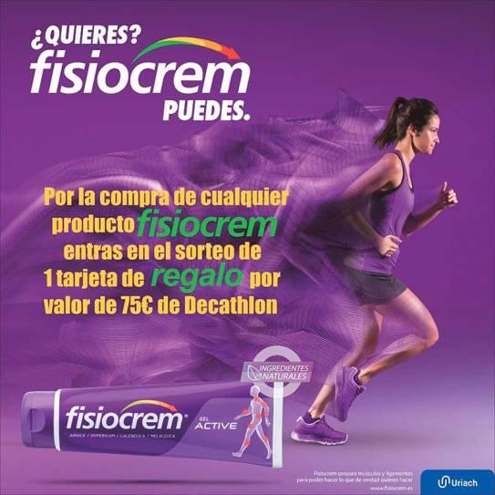Fisiocrem 250ml Crema para calentar músculos
