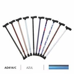 Ayudas Dinámicas Bastón muleta fashion azul ad41