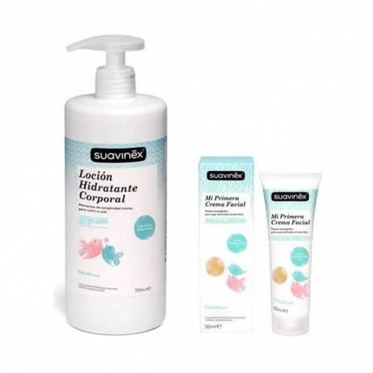 Suavinex pack loción hidratante 750ml + facial 5