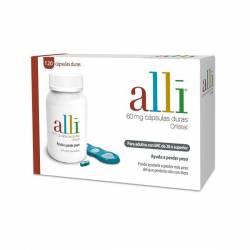 Alli 60 mg 120 cápsulas (frasco)