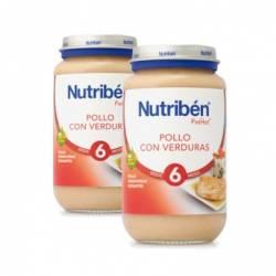 Nutriben pollo con verduras pack potito 2 X 250
