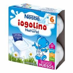Nestle Iogolino sabor natural 4 und x 100 gr