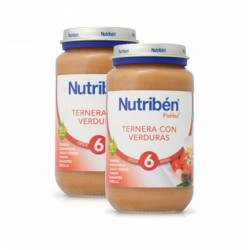 Nutriben ternera con verdura pack potito 2 x 250