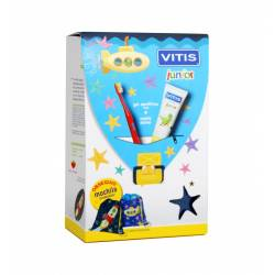 VITIS JUNIOR PACK CEPILLO DENTAL + PASTA