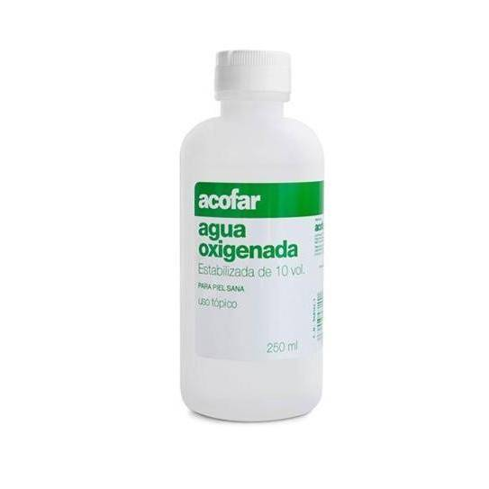 ACOFAR AGUA OXIGENADA 10 VOL 250 ML