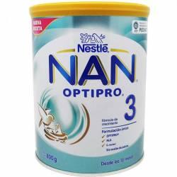 Nan 3 Optipro 800 Gr - Leche Infantil