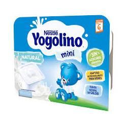 NESTLE IOGOLINO MINI NATURAL 6X60G
